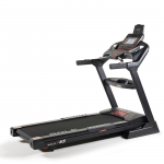 A side angle view of the Sole F65 treadmill