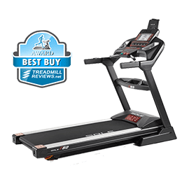 Sole F80 treadmill with best buy badge