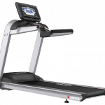 A side view angle of the Landice L7 Treadmill