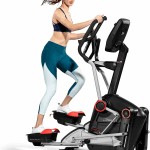 A fit woman in athletic attire working out on the LateralX LX5