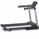 A side view image of the TR4000 treadmill